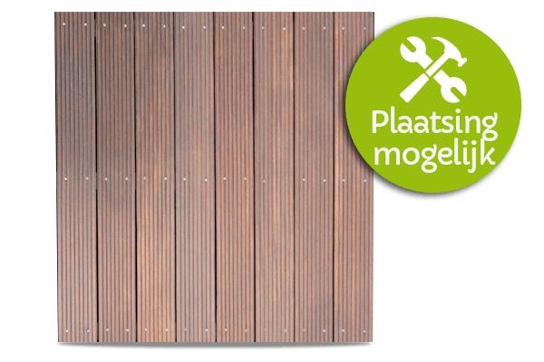 houten terrasplanken leggen t Goor