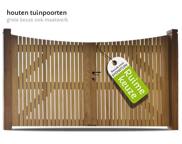 houten tuinpoorten t Goor