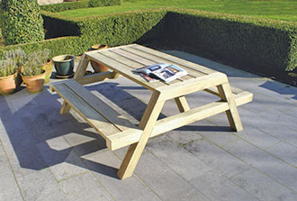 picknicktafel clipper t Goor