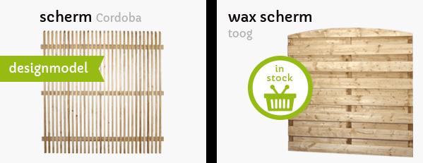 tuinschermen wax t Goor