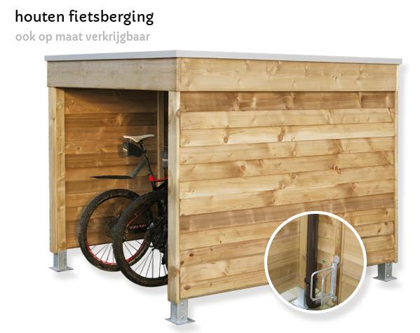 houten-fietsberging