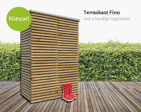 terraskast hout