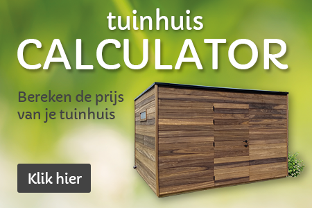 tuinhuis calculator